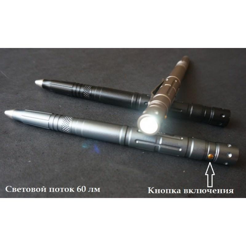 17349 thickbox default - Тактическая ручка-куботан Laix B007.2 с интегрированным клинком и встроенным фонариком
