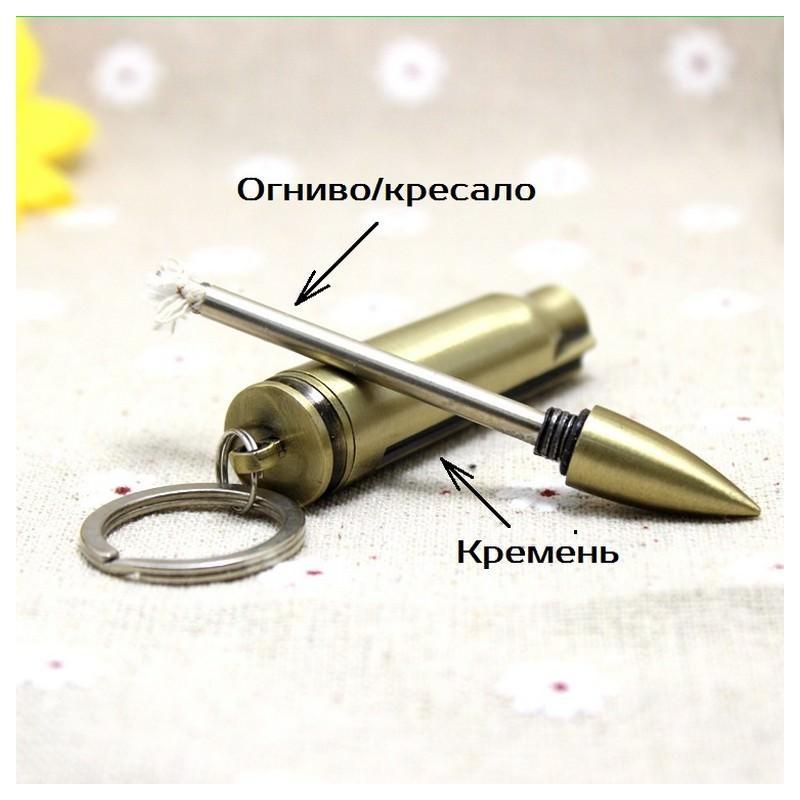 27885 thickbox default - Многоразовая спичка-зажигалка Гильза в металлическом корпусе