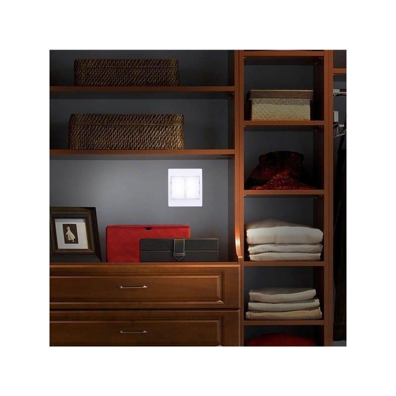 37328 thickbox default - Настенный двойной светильник-ночник Double LED Switch