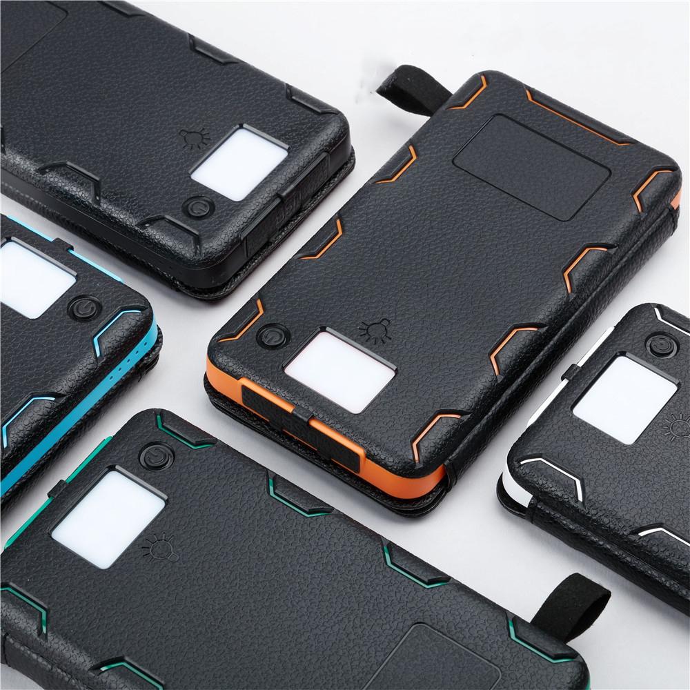 Внешний аккумулятор с солнечной панелью Power Bank 10000 мАч 20000 мАч 7 - Внешний аккумулятор с солнечной панелью Power Bank 10000 мАч/ 20000 мАч, 4/6/8 Вт, 2x USB