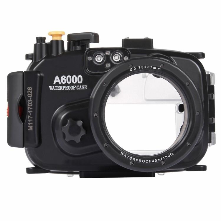Водонепроницаемый корпус/ подводный чехол/ аквабокс  PULUZ для камеры Sony A6000 (черный)