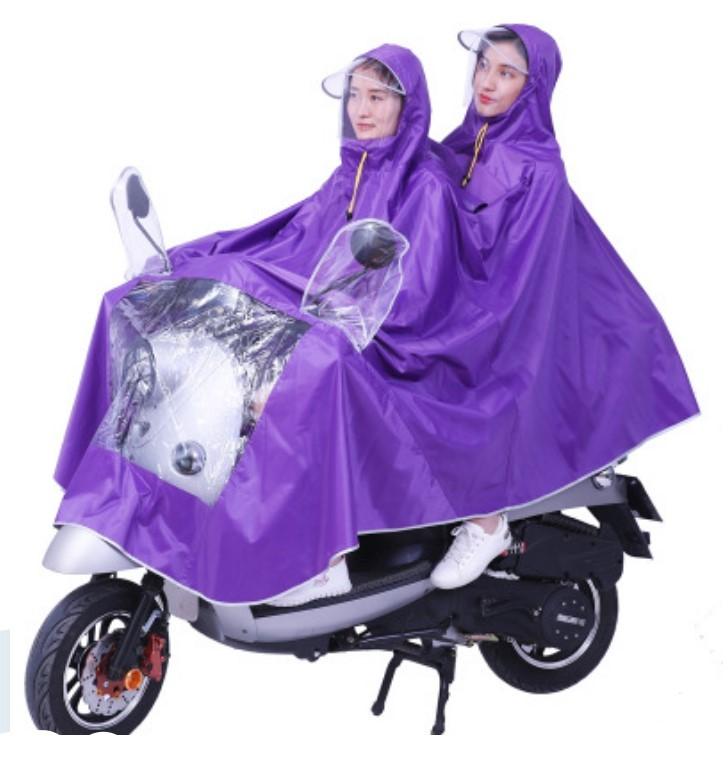 Двойной плащ-дождевик для мотоциклистов и мопедистов