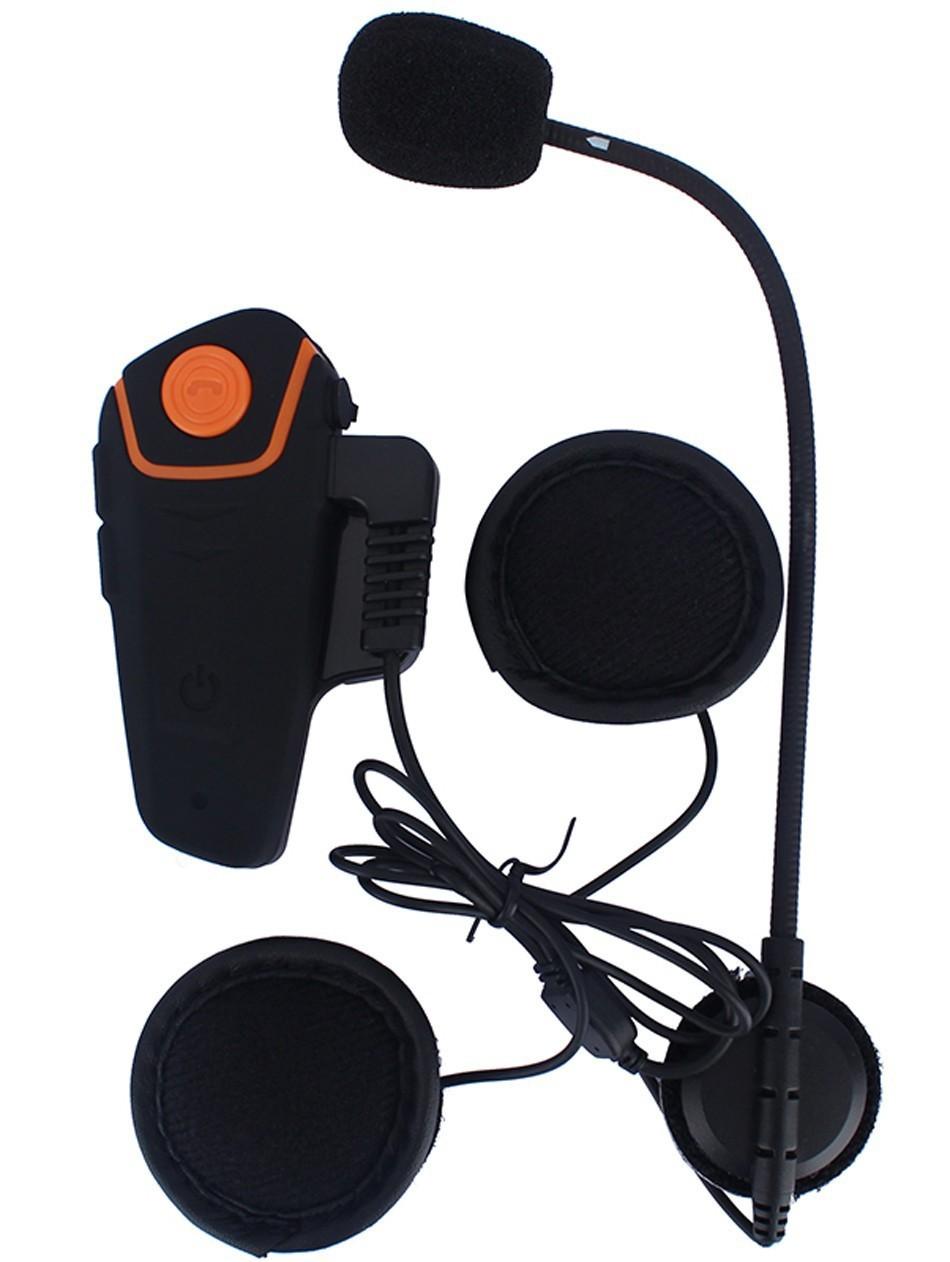Мотогарнитура BT S2 Intercom 13 - Мотогарнитура BT-S2 Intercom - до 1000 м внутренняя связь, Bluetooth, FM радио, поддержка GPS, 450 мАч аккумулятор