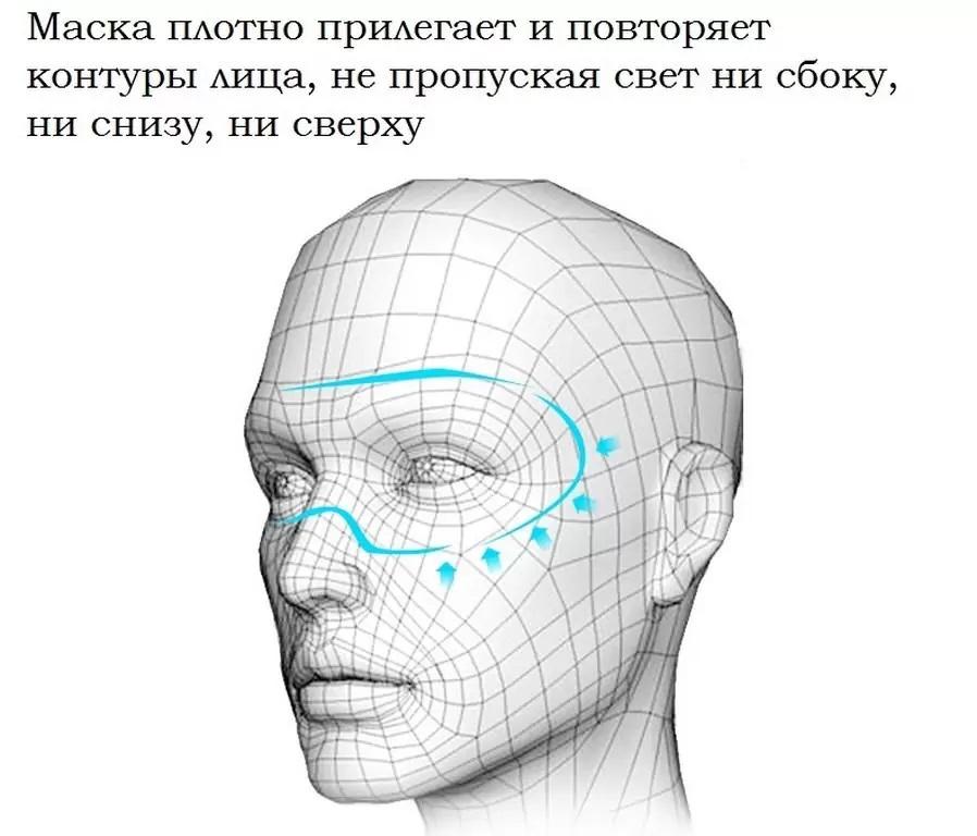 для сна – надувная подушка светонепроницаемая 3D маска 23 - Набор для сна - надувная подушка, светонепроницаемая 3D маска