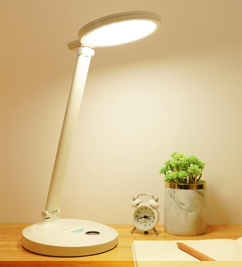 Настольная LED лампа с аккумулятором 11 - Настольная LED-лампа с аккумулятором: режимы света, USB-зарядка, подставка для телефона