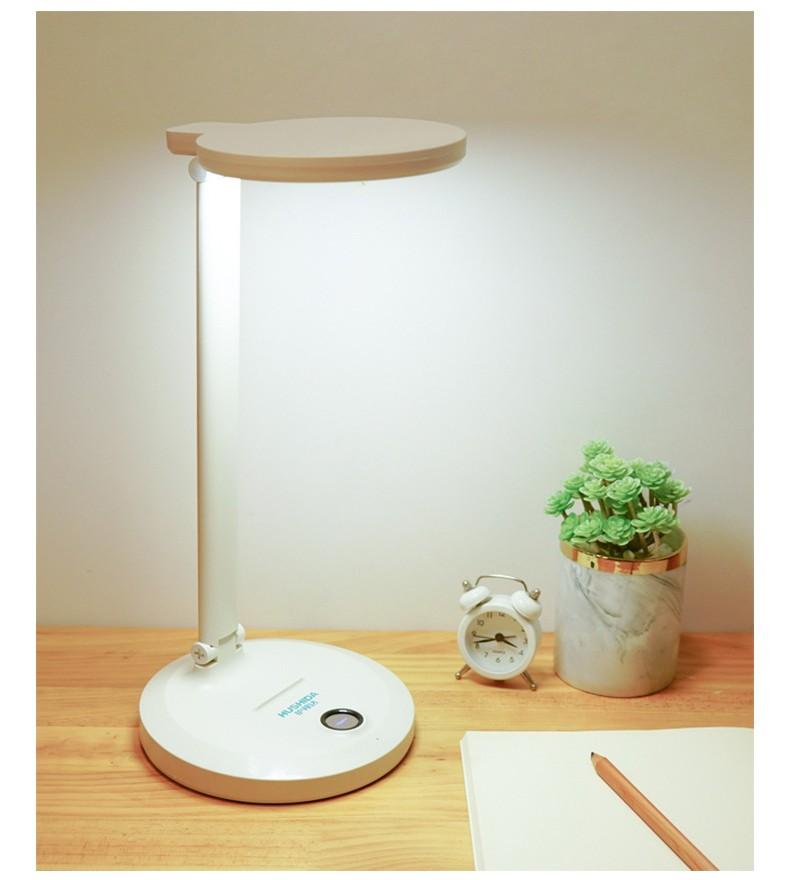 Настольная LED лампа с аккумулятором 15 - Настольная LED-лампа с аккумулятором: режимы света, USB-зарядка, подставка для телефона