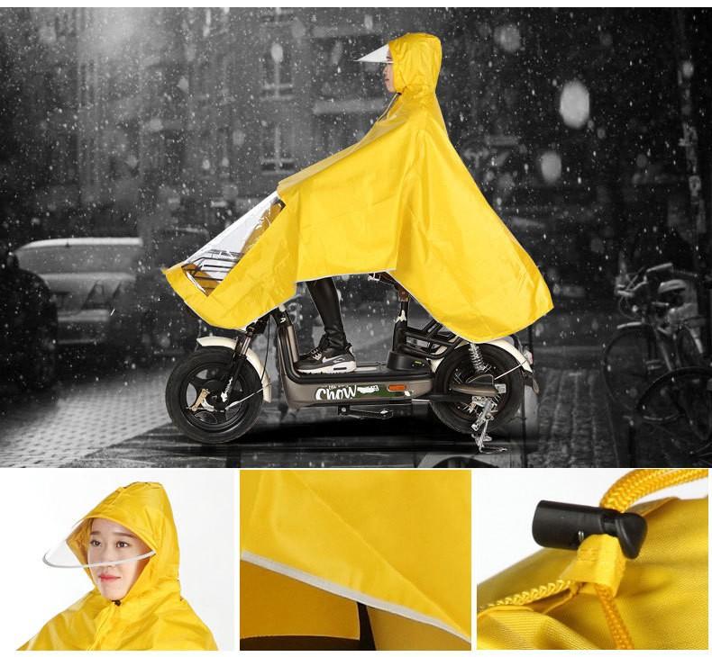 Плащ-дождевик для езды на мотоцикле/ мопеде