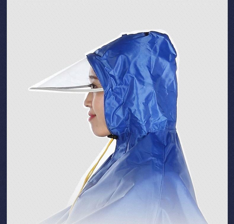 Плащ дождевик для езды на мотоцикле мопеде ткань Оксфорд 03 - Плащ-дождевик для езды на мотоцикле/ мопеде: ткань Оксфорд