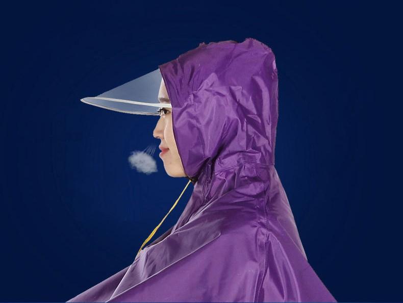 Плащ дождевик для езды на мотоцикле мопеде ткань Оксфорд 09 - Плащ-дождевик для езды на мотоцикле/ мопеде: ткань Оксфорд