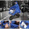 Плащ-дождевик для езды на мотоцикле/ мопеде: ткань Оксфорд 254160