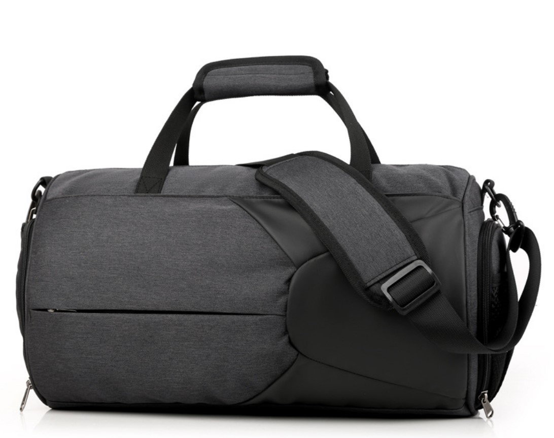 Спортивная водонепроницаемая сумка для плавания с раздельным хранением 02 - Спортивная водонепроницаемая сумка для плавания с раздельным хранением сухого и мокрого