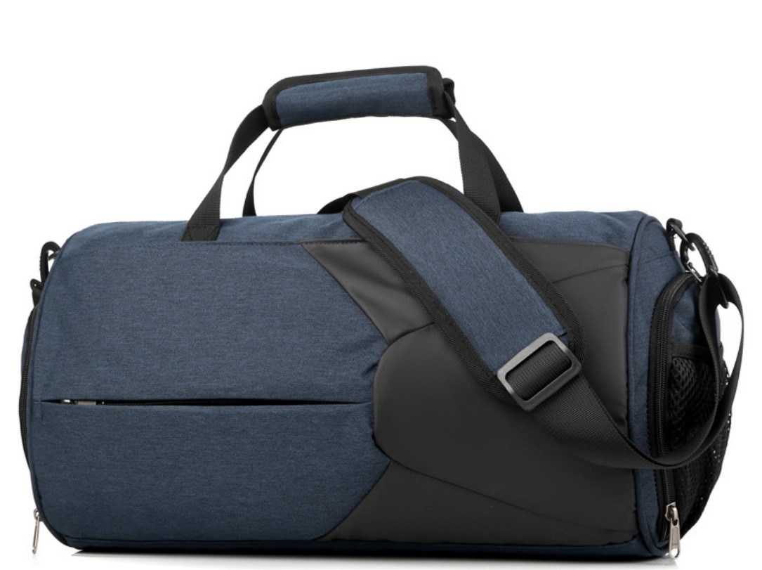 Спортивная водонепроницаемая сумка для плавания с раздельным хранением 03 - Спортивная водонепроницаемая сумка для плавания с раздельным хранением сухого и мокрого