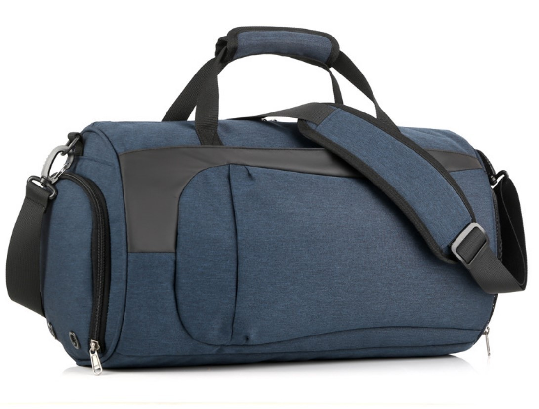 Спортивная водонепроницаемая сумка для плавания с раздельным хранением 05 - Спортивная водонепроницаемая сумка для плавания с раздельным хранением сухого и мокрого