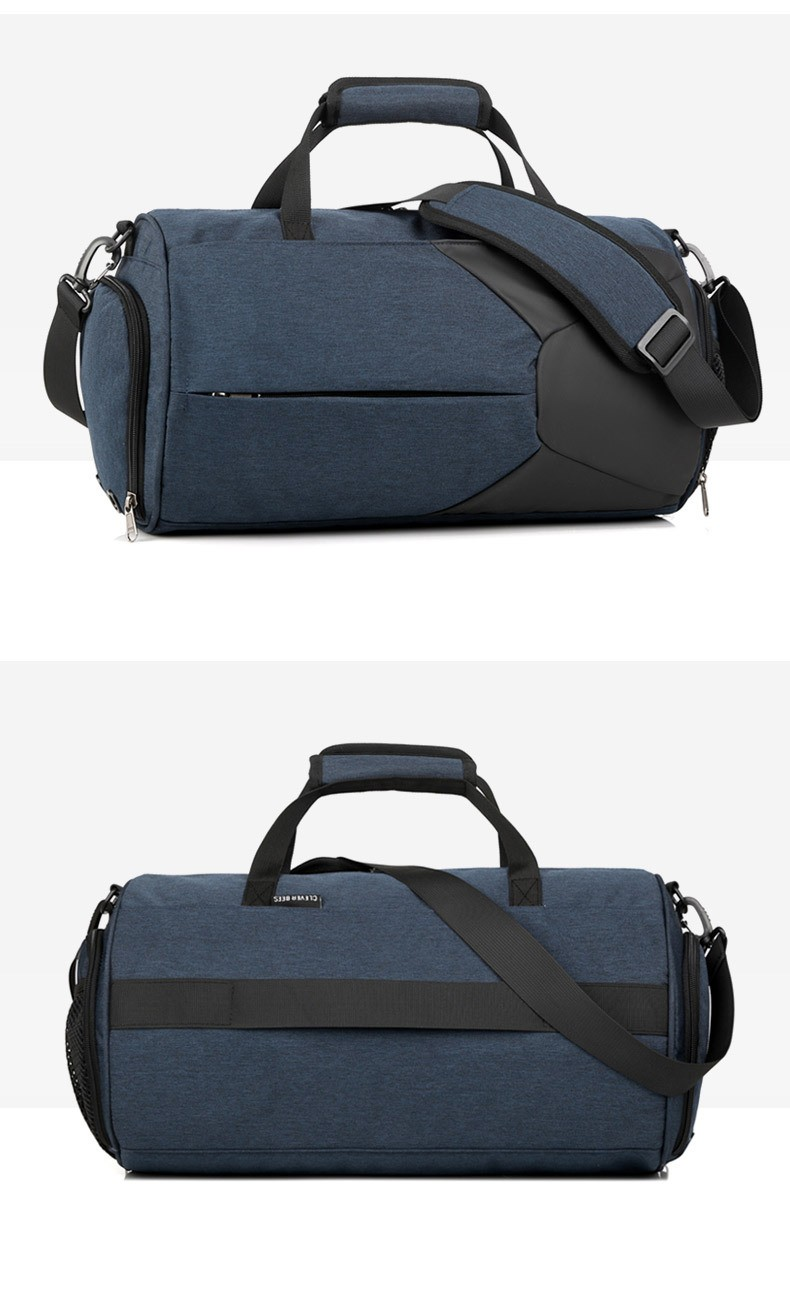 Спортивная водонепроницаемая сумка для плавания с раздельным хранением 07 - Спортивная водонепроницаемая сумка для плавания с раздельным хранением сухого и мокрого
