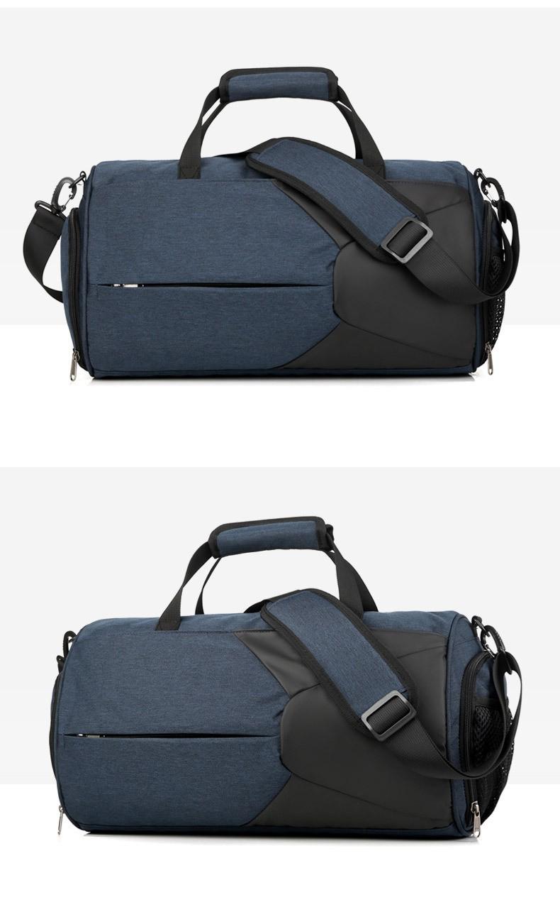 Спортивная водонепроницаемая сумка для плавания с раздельным хранением 09 - Спортивная водонепроницаемая сумка для плавания с раздельным хранением сухого и мокрого
