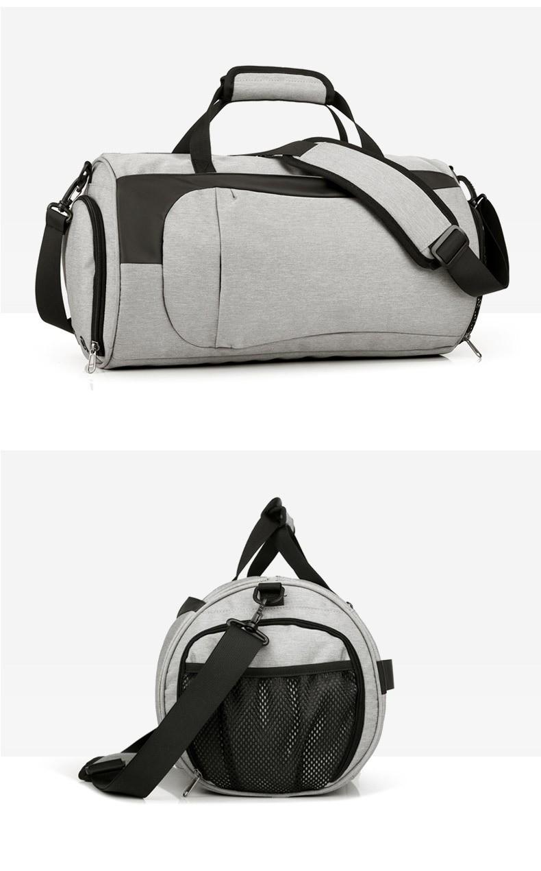 Спортивная водонепроницаемая сумка для плавания с раздельным хранением 14 - Спортивная водонепроницаемая сумка для плавания с раздельным хранением сухого и мокрого