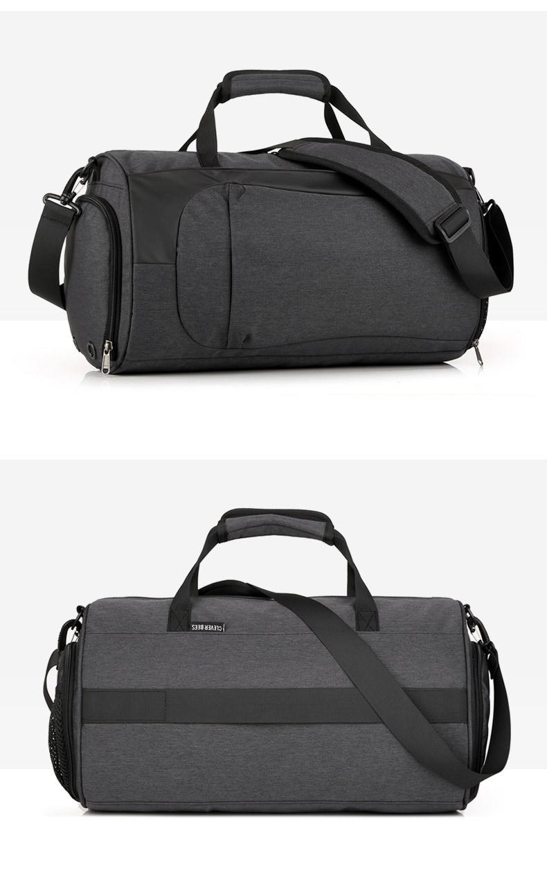Спортивная водонепроницаемая сумка для плавания с раздельным хранением 16 - Спортивная водонепроницаемая сумка для плавания с раздельным хранением сухого и мокрого