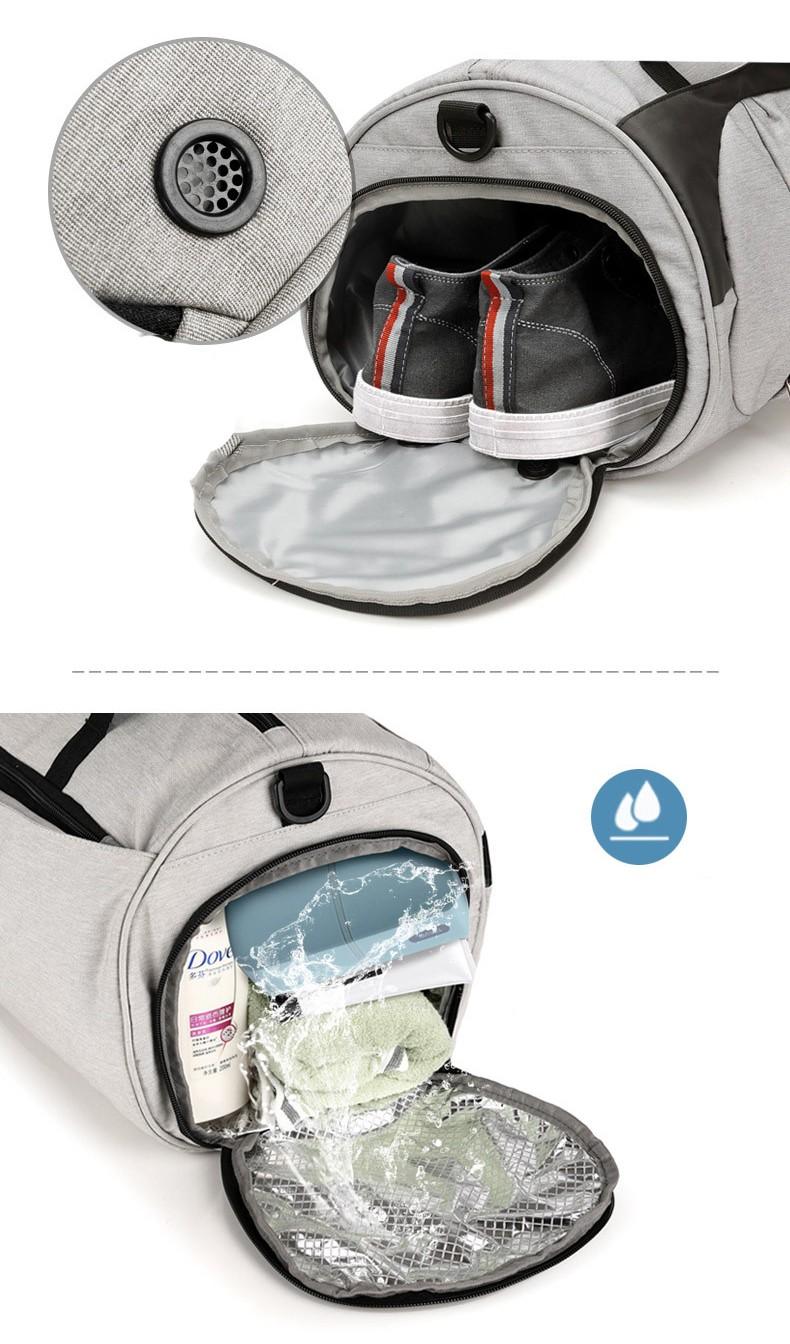 Спортивная водонепроницаемая сумка для плавания с раздельным хранением 18 - Спортивная водонепроницаемая сумка для плавания с раздельным хранением сухого и мокрого