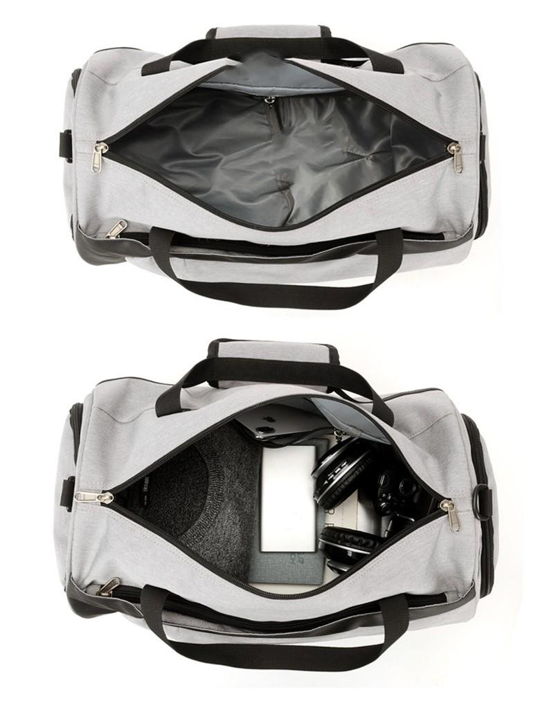 Спортивная водонепроницаемая сумка для плавания с раздельным хранением 19 - Спортивная водонепроницаемая сумка для плавания с раздельным хранением сухого и мокрого