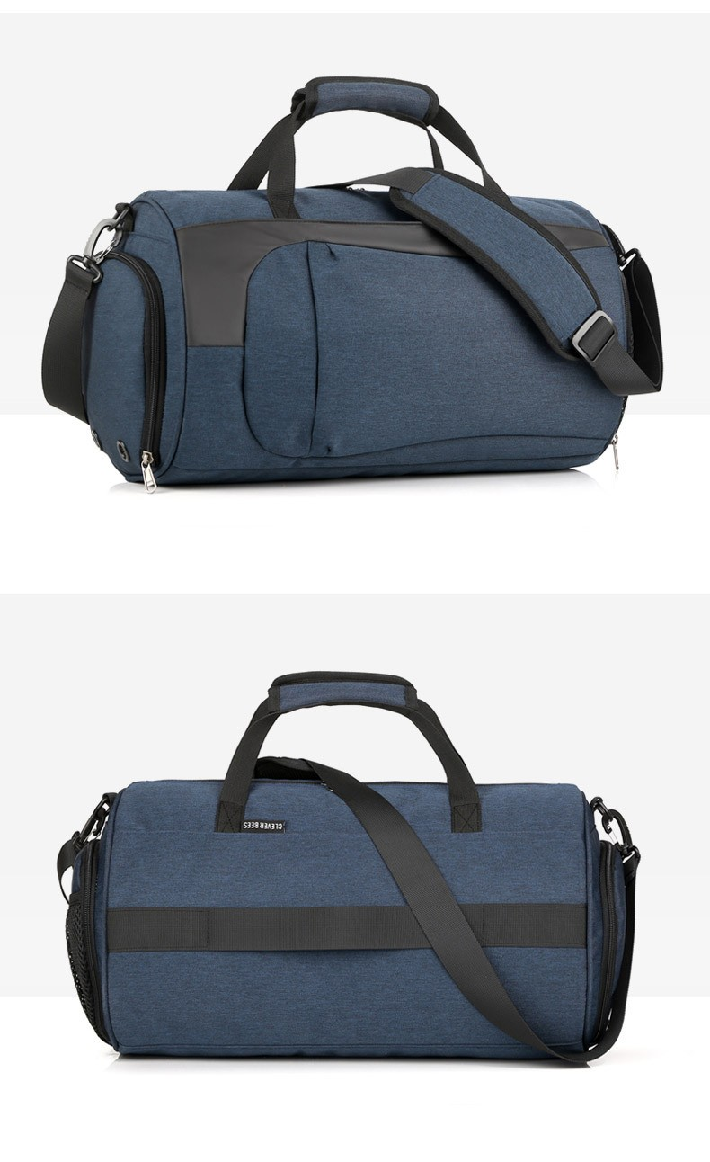Спортивная водонепроницаемая сумка для плавания с раздельным хранением 20 - Спортивная водонепроницаемая сумка для плавания с раздельным хранением сухого и мокрого