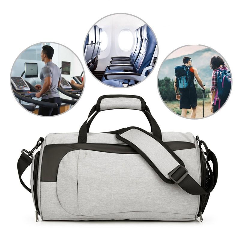 Спортивная водонепроницаемая сумка для плавания с раздельным хранением 22 - Спортивная водонепроницаемая сумка для плавания с раздельным хранением сухого и мокрого