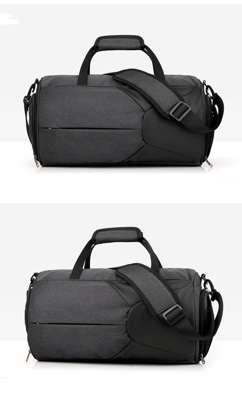 Спортивная водонепроницаемая сумка для плавания с раздельным хранением 25 - Спортивная водонепроницаемая сумка для плавания с раздельным хранением сухого и мокрого