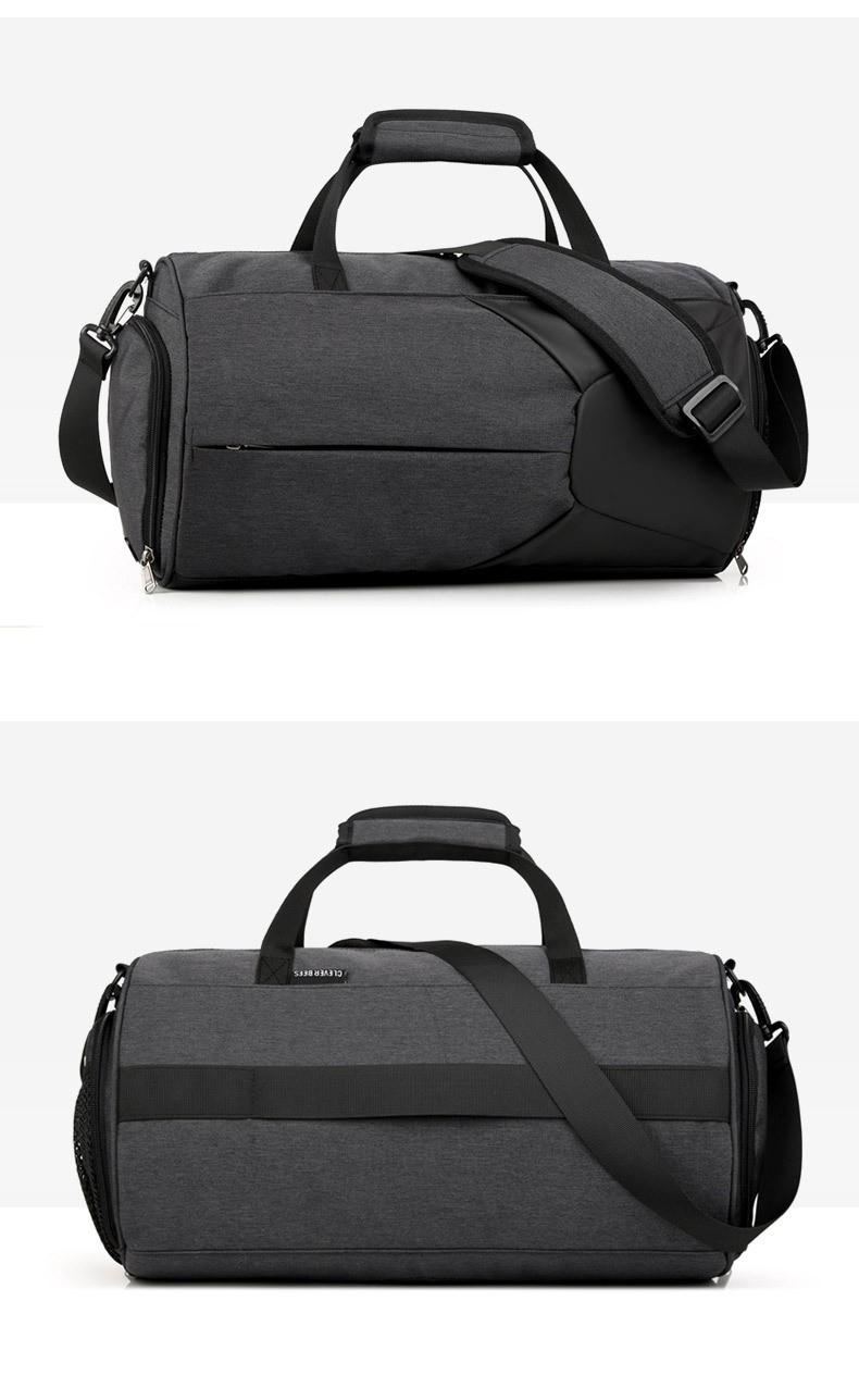 Спортивная водонепроницаемая сумка для плавания с раздельным хранением 26 - Спортивная водонепроницаемая сумка для плавания с раздельным хранением сухого и мокрого
