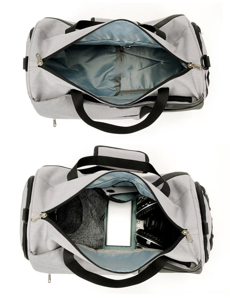 Спортивная водонепроницаемая сумка для плавания с раздельным хранением 28 - Спортивная водонепроницаемая сумка для плавания с раздельным хранением сухого и мокрого