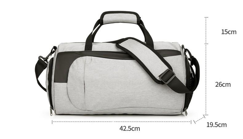 Спортивная водонепроницаемая сумка для плавания с раздельным хранением 32 - Спортивная водонепроницаемая сумка для плавания с раздельным хранением сухого и мокрого
