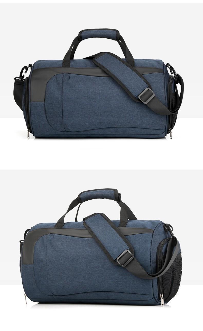 Спортивная водонепроницаемая сумка для плавания с раздельным хранением 33 - Спортивная водонепроницаемая сумка для плавания с раздельным хранением сухого и мокрого