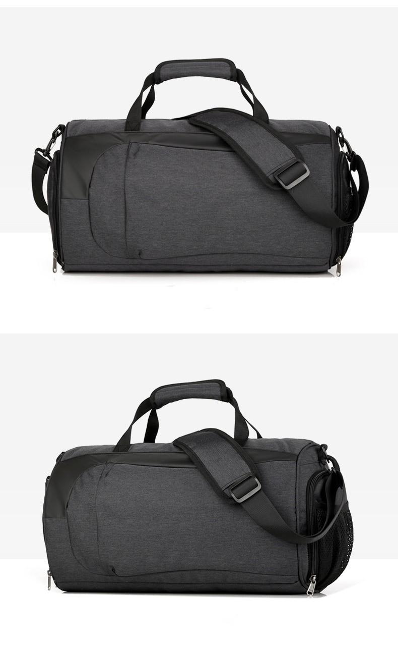 Спортивная водонепроницаемая сумка для плавания с раздельным хранением 34 - Спортивная водонепроницаемая сумка для плавания с раздельным хранением сухого и мокрого