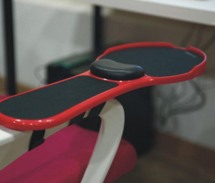 Эргономичный коврик-подставка под мышь для стола, кресла