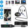 10-метровый беспроводной USB-эндоскоп – поддержка iOS, Android и Windows, 720p, Wi-Fi, 8 светодиодов, IP68, 600 мАч