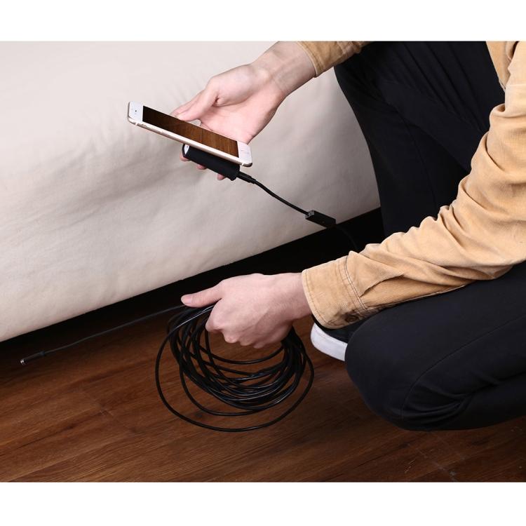 10 metrovyj besprovodnoj jendoskop 08 - 10-метровый беспроводной USB-эндоскоп - поддержка iOS, Android и Windows, 720p, Wi-Fi, 8 светодиодов, IP68, 600 мАч