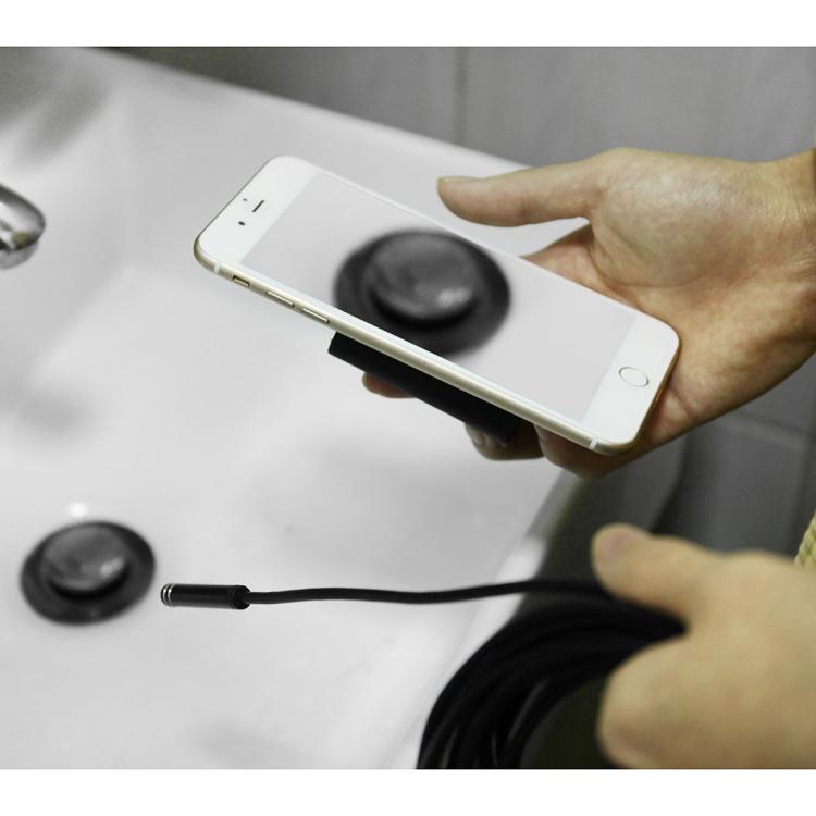 10 metrovyj besprovodnoj jendoskop 10 - 10-метровый беспроводной USB-эндоскоп - поддержка iOS, Android и Windows, 720p, Wi-Fi, 8 светодиодов, IP68, 600 мАч