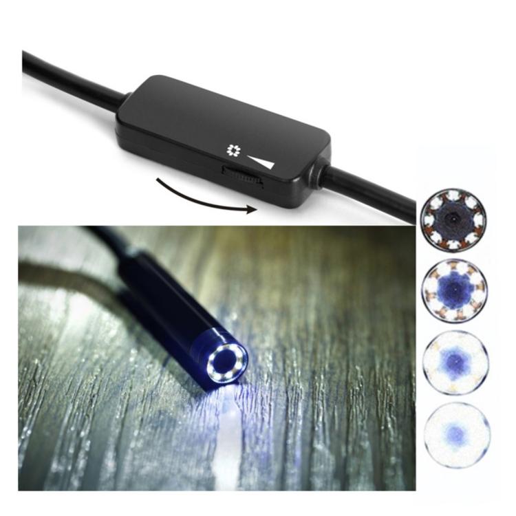 10 metrovyj besprovodnoj jendoskop 13 - 10-метровый беспроводной USB-эндоскоп - поддержка iOS, Android и Windows, 720p, Wi-Fi, 8 светодиодов, IP68, 600 мАч