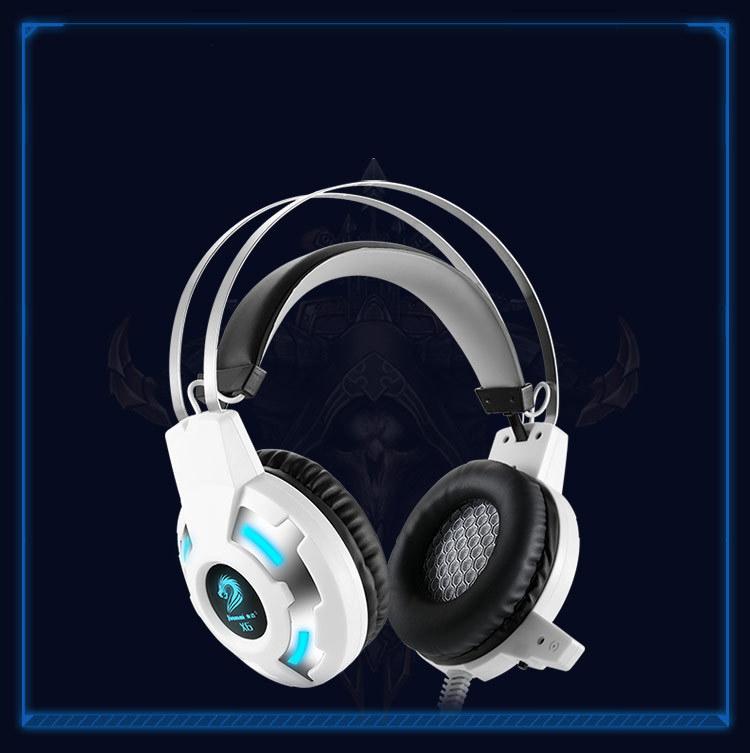 3544756968 1905338215 - Бюджетные игровые наушники X8S с микрофоном и подсветкой (Замена на игровые наушники Cosonic CD-618)