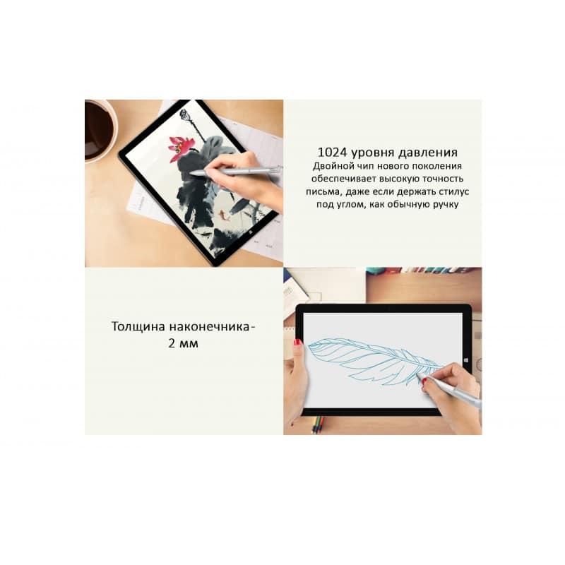 39398 - Активный стилус Chuwi HiPen H3 для планшетов Chuwi Hi12/ Hi13: Dual чип, 1024 уровня давления, наклон до 30°, точность 99%