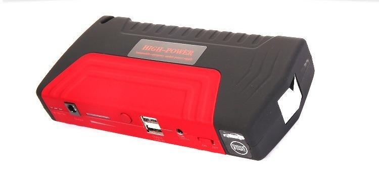 9412963445 1013102243 - Прикуриватель для автомобиля Jump Starter + повербанк 9000 мАч: 2 х USB 5V 2A, 12В 10А, стартер-кабели, адаптеры