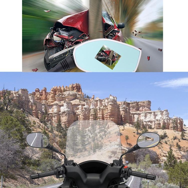 fullhd videoregistrator dlja motocikla s dvumja kamerami dvr zerkalo zadnego vida 10 - FullHD видеорегистратор для мотоцикла с двумя камерами (DVR зеркало заднего вида): 1080р, 2,4´дисплей