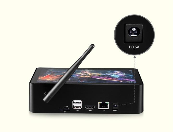 minikompjuter pipo x8 s 7 djujmovym displeem 08 - Мини-компьютер PiPo X8 Pro с 7-дюймовым дисплеем – Windows 10/Android, Z8350 1,92 ГГц, 2 Гб/32 Гб памяти, HDMI, USB 3.0