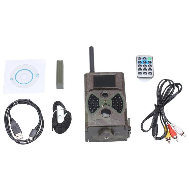 Охотничья камера Photocatcher | фотоловушка HC300M – видео 1080p, 2 ИК-датчика движения, ночное видение, слежение через MMS 218396