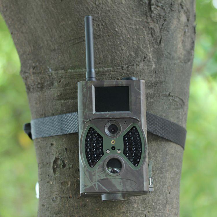 Охотничья камера Photocatcher | фотоловушка HC300M – видео 1080p, 2 ИК-датчика движения, ночное видение, слежение через MMS 218397