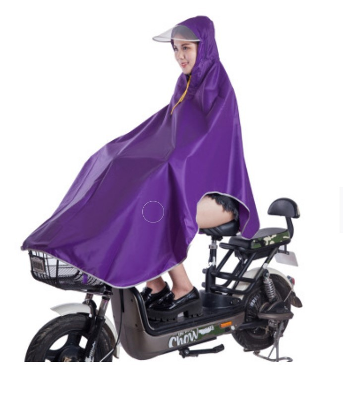 Плащ-дождевик для катания на велосипеде: водонепроницаемая ткань Оксфорд