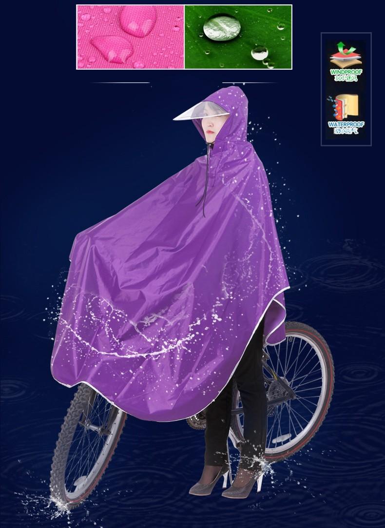 plashh dozhdevik dlja katanija na velosipede 10 - Плащ-дождевик для велосипеда: водонепроницаемая ткань Оксфорд