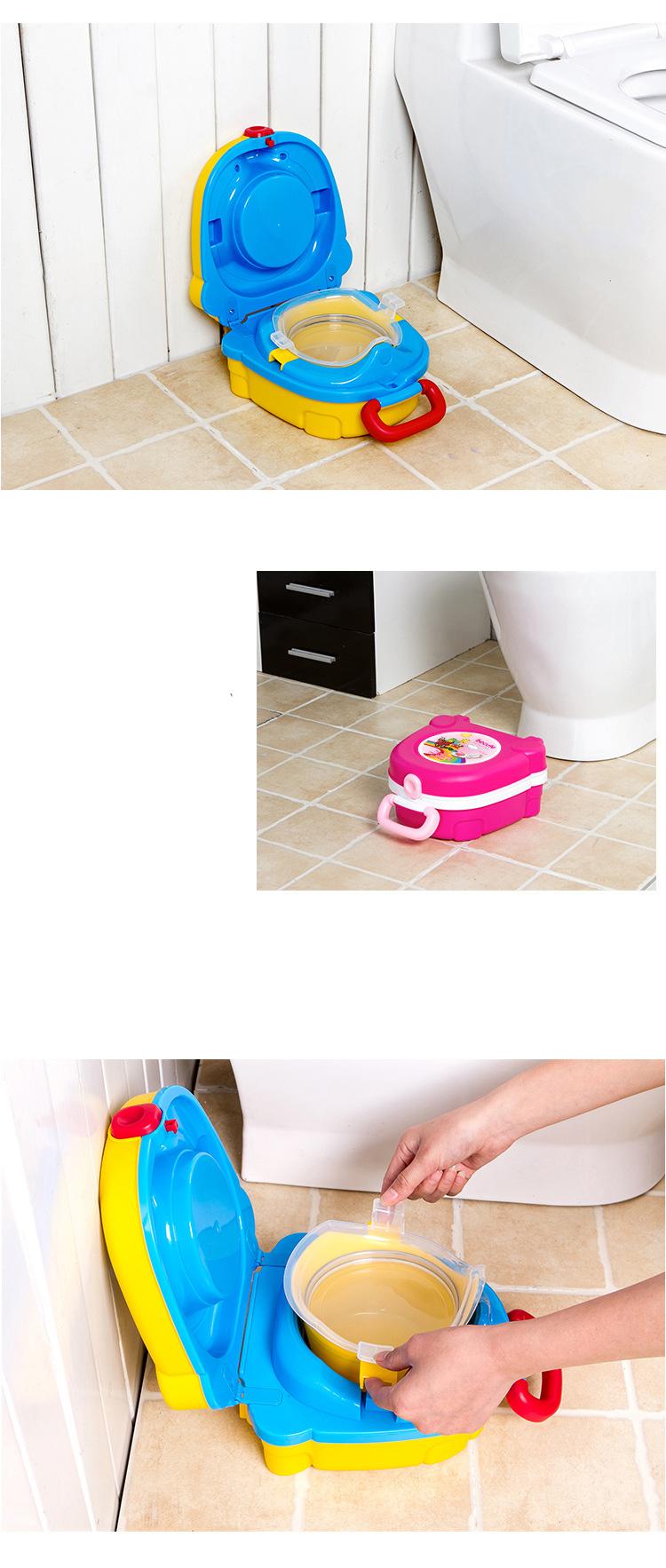 portativnyj dorozhnyj gorshok my carry potty 05 - Портативный дорожный горшок My Carry Potty Becute