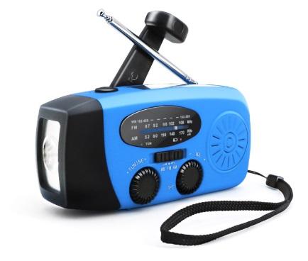 radiopriemnik way so vstroennym fonarem - Радиоприемник WAY со встроенным фонарем, динамо-машиной, солнечной батареей и функцией Powerbank