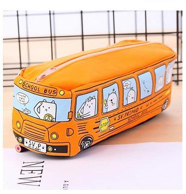 Школьный пенал School Bus на молнии