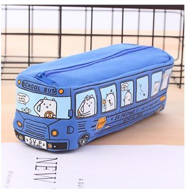 Школьный пенал School Bus на молнии 218198