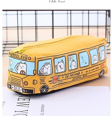 shkolnyj penal school bus na molnii 14 - Школьный пенал School Bus на молнии